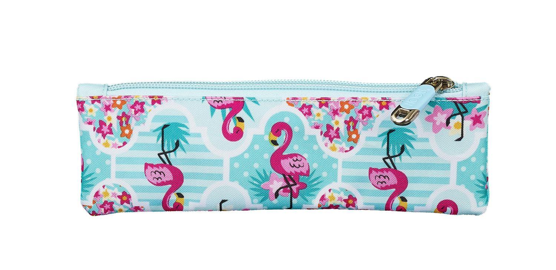 Mini Pencil Case MOOS Flamingo Turquoise – image 2