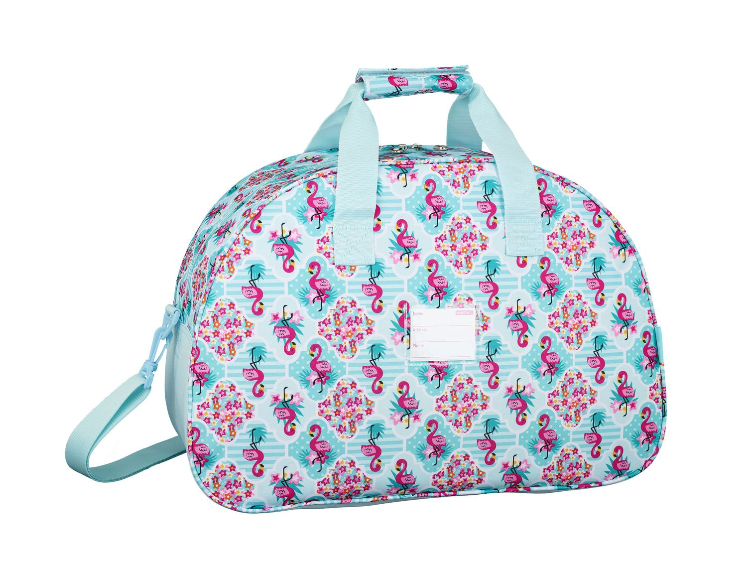 Travel Sports Bag 48 cm MOOS Flamingo Turquoise – image 2