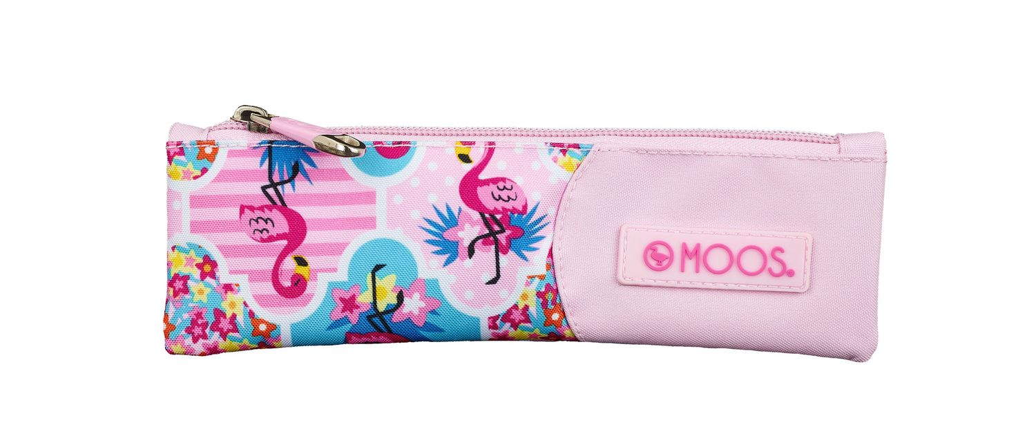 Mini Pencil Case MOOS Flamingo Pink – image 1