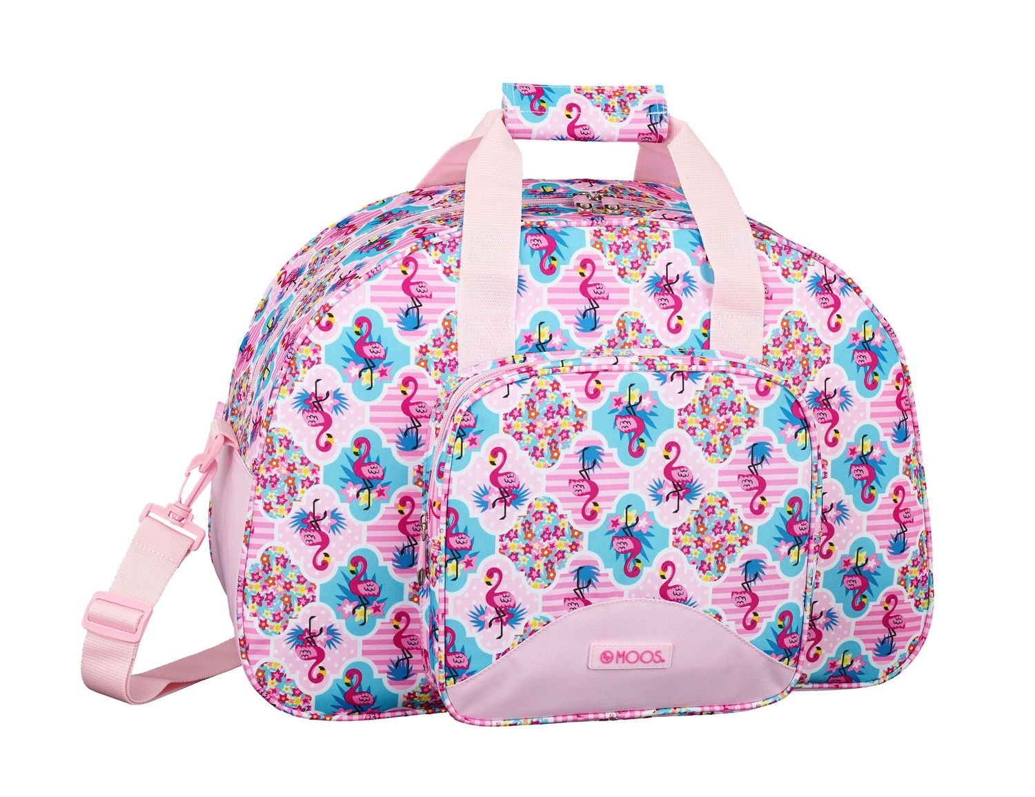 Travel Sports Bag 48 cm MOOS Flamingo Pink – image 1