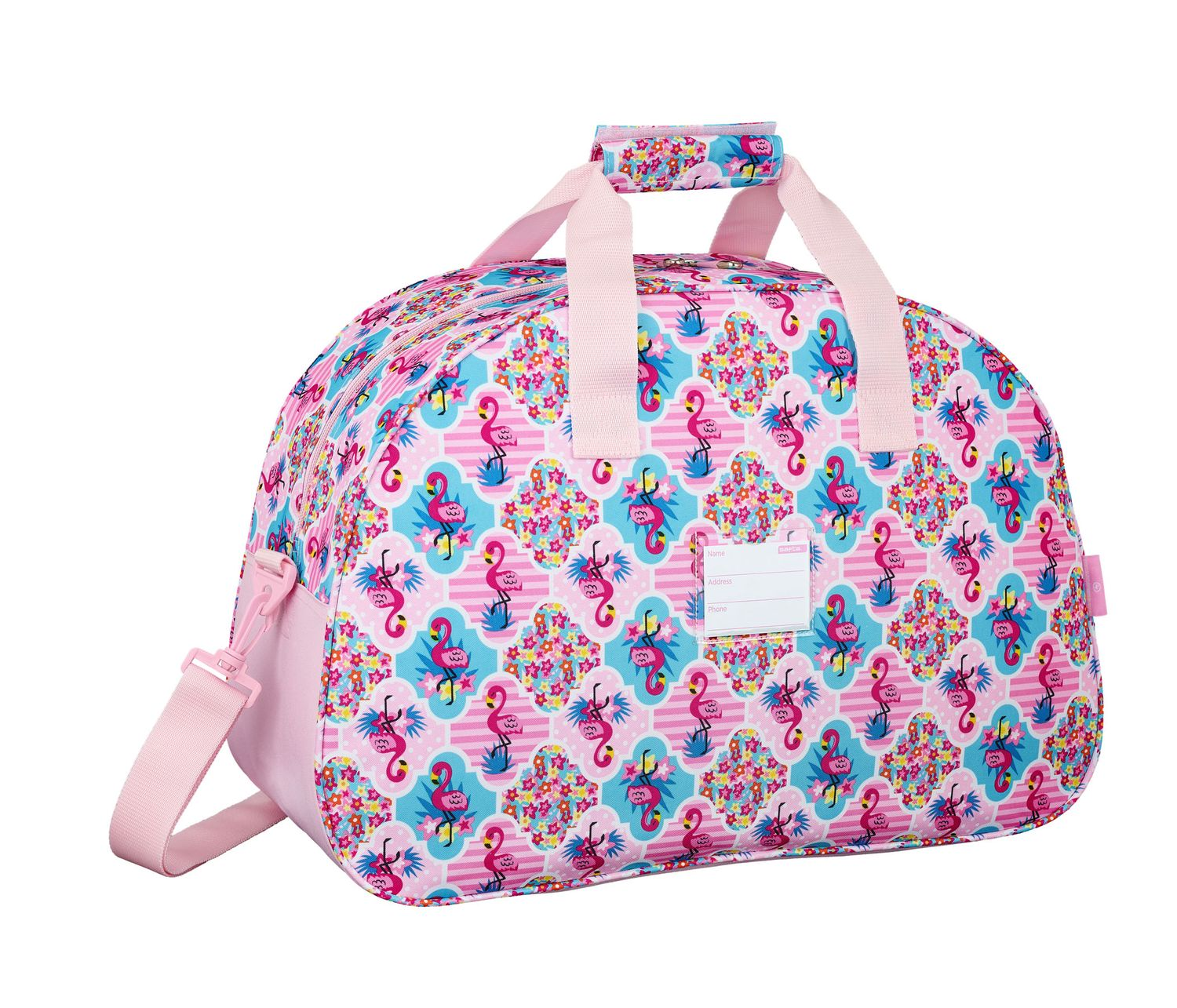Travel Sports Bag 48 cm MOOS Flamingo Pink – image 2