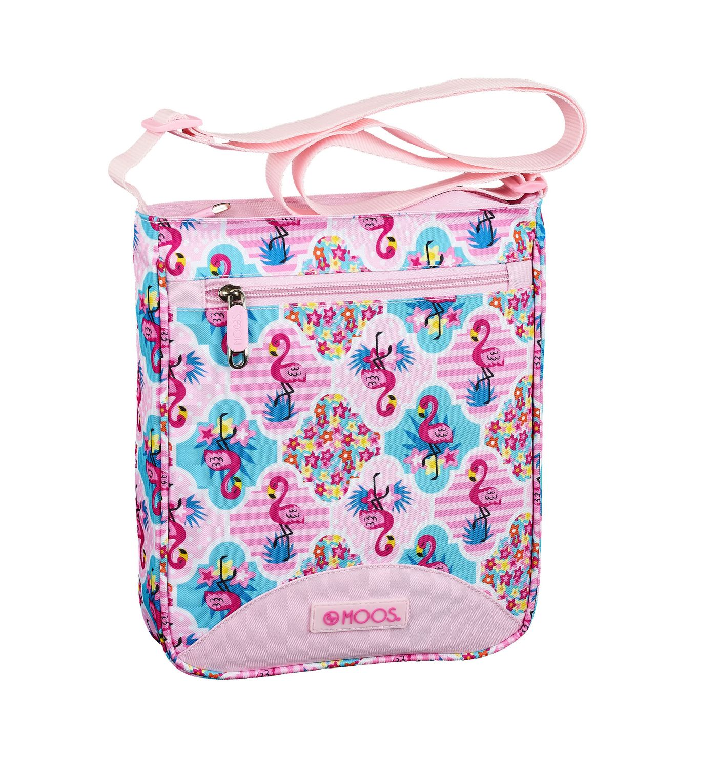 Shoulder Bag 21 cm MOOS Pink Flamingo  – image 1