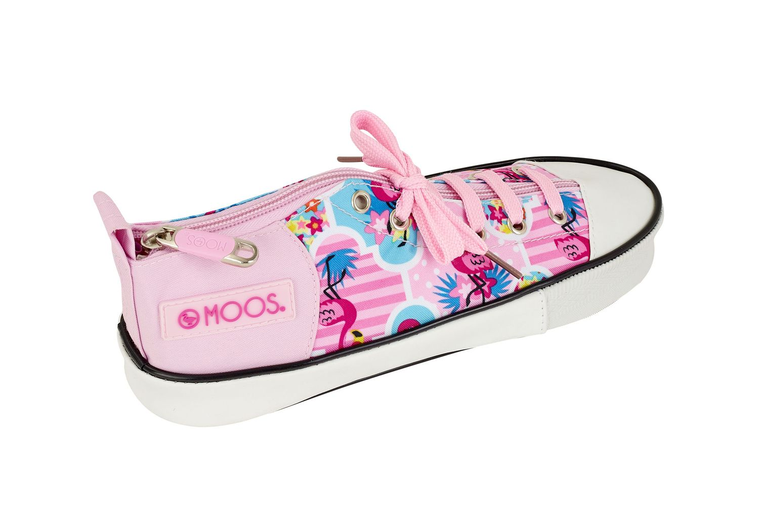 Sports shoe shaped Pencil Case MOOS Flamingo Pink – image 1