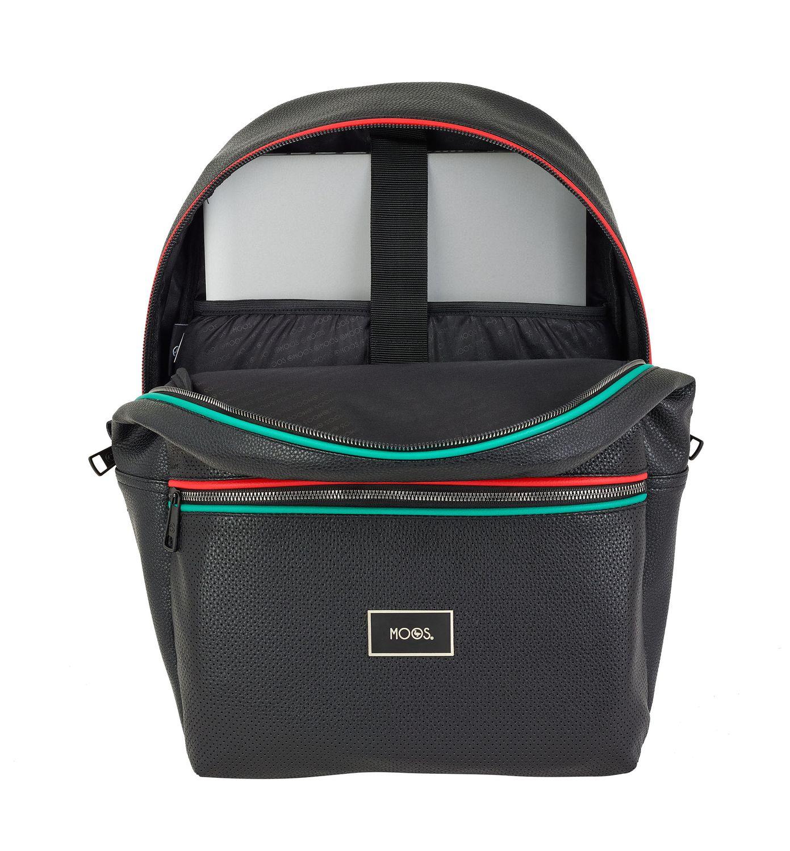 Laptop Rucksack Backpack 15,6''  MOOS Capsula Black – image 2