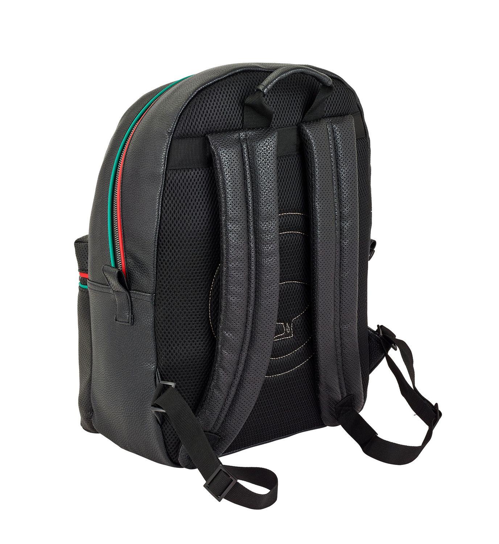 Laptop Rucksack Backpack 15,6''  MOOS Capsula Black – image 3