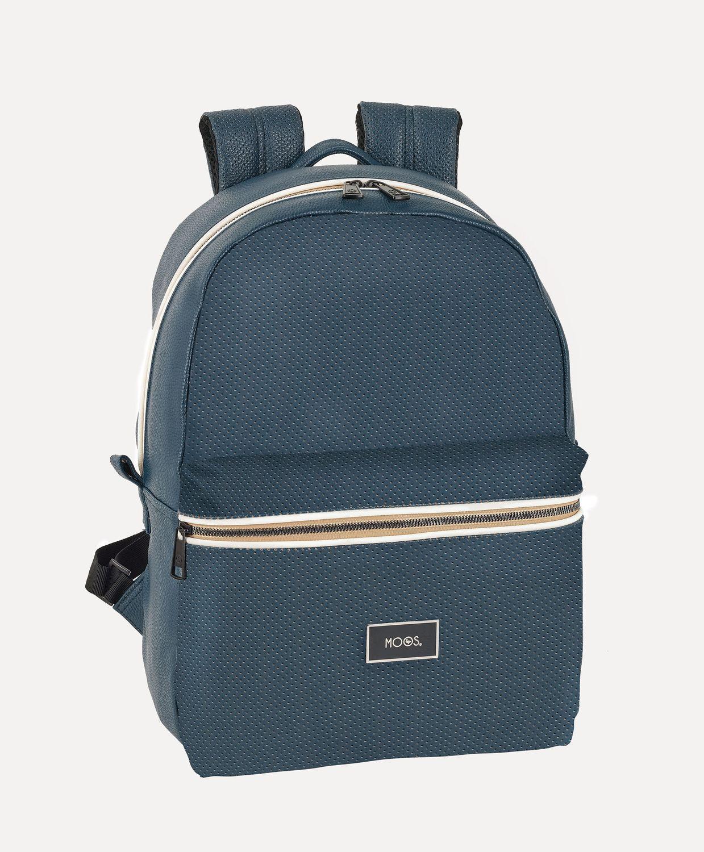 Laptop Rucksack Backpack 15,6'' MOOS Capsula Blue – image 1