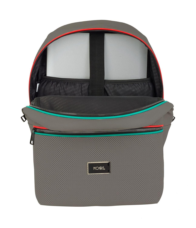 Laptop Rucksack Backpack 15,6'' MOOS Capsula Portland Grey – image 2