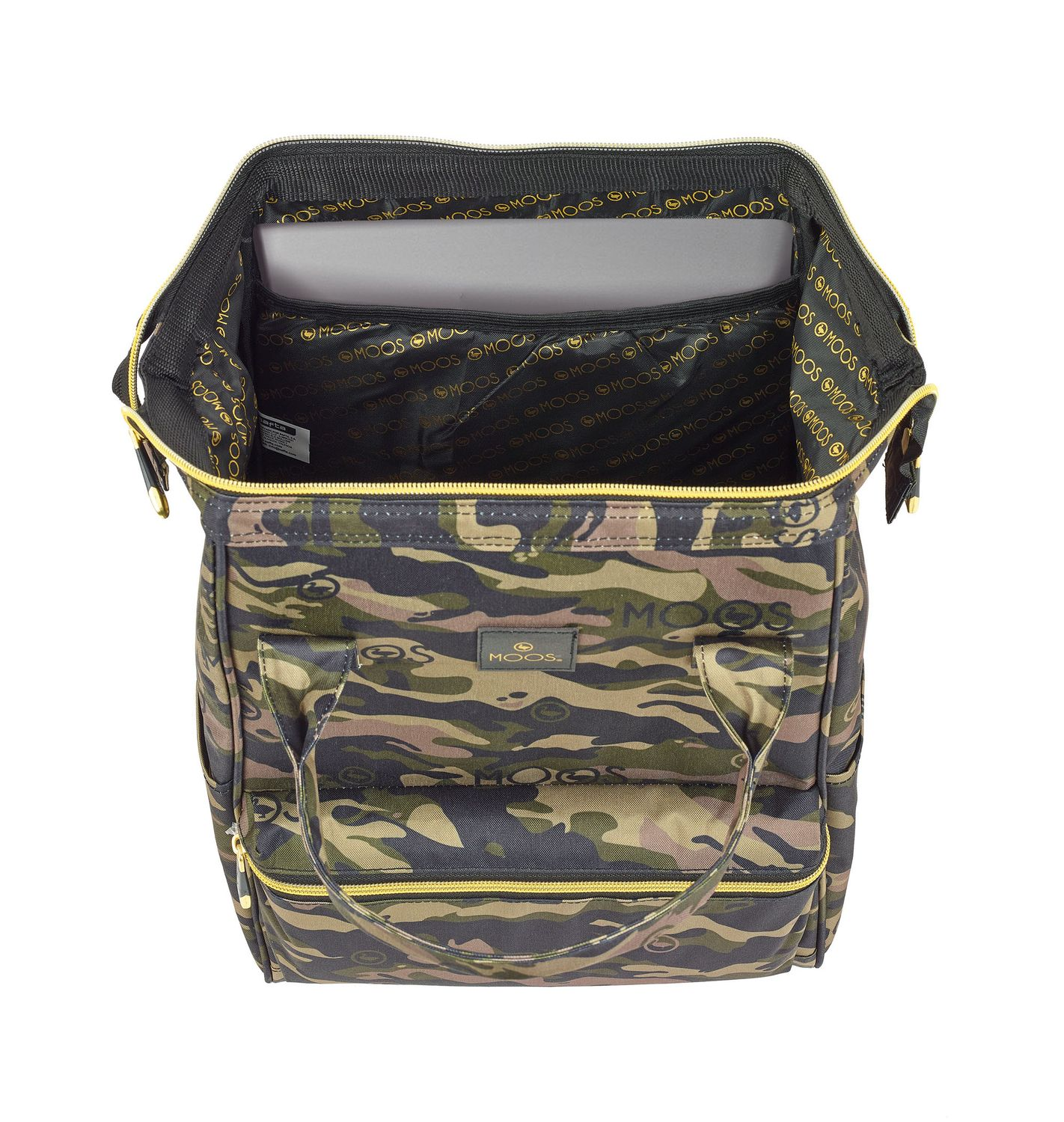 "Backpack with handles for laptop 13"" 40 cm MOSS Camouflage – image 2"