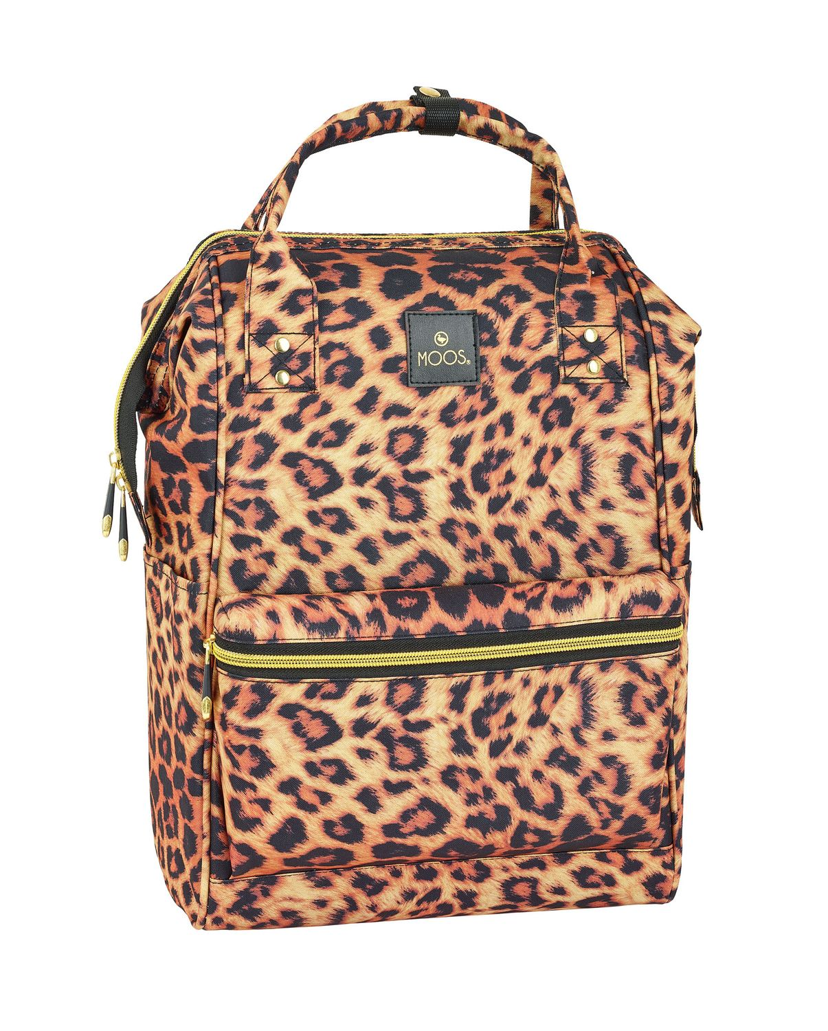 Laptop Backpack with handle MOOS Animal Print 40 cm – image 1