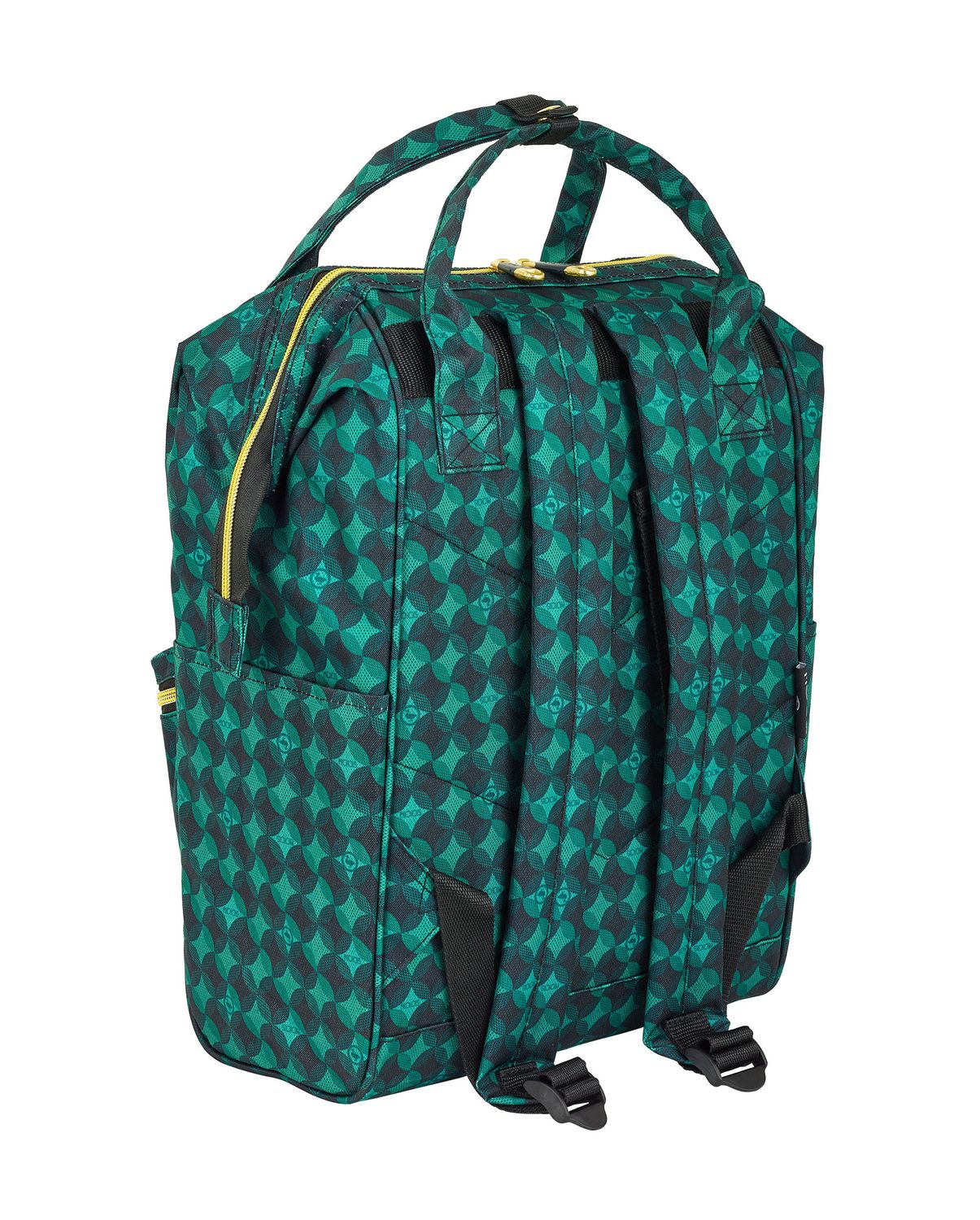 Laptop Backpack DELUXE 40 cm MOSS Geometric – image 3
