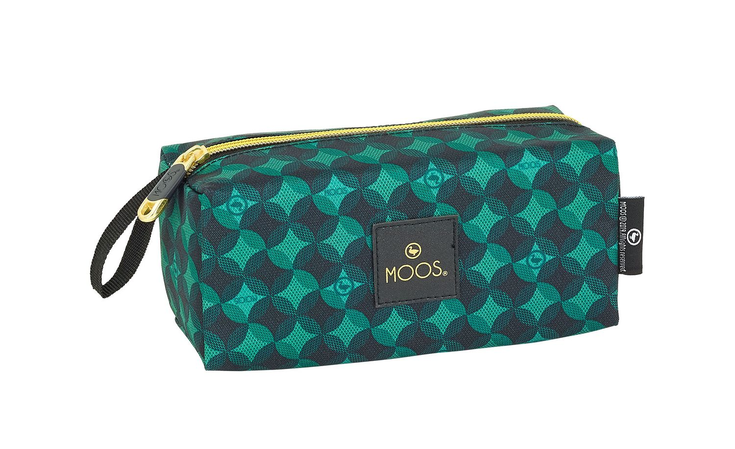 Wash Travel Bag Case MOSS Geometric – image 1