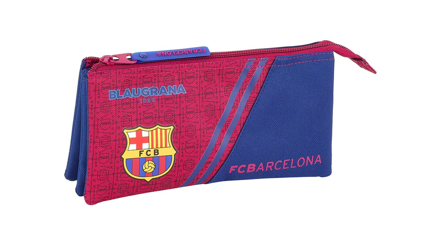 Triple Pencil Case F.C. Barcelona 1 Corporate – image 1
