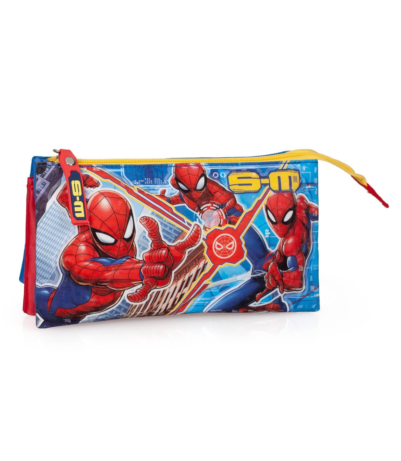 Pencil Case Triple Compartment Spider Man S-M – image 1