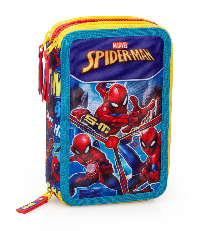 3 Tier Pencil Case Spider Man S-M – image 1
