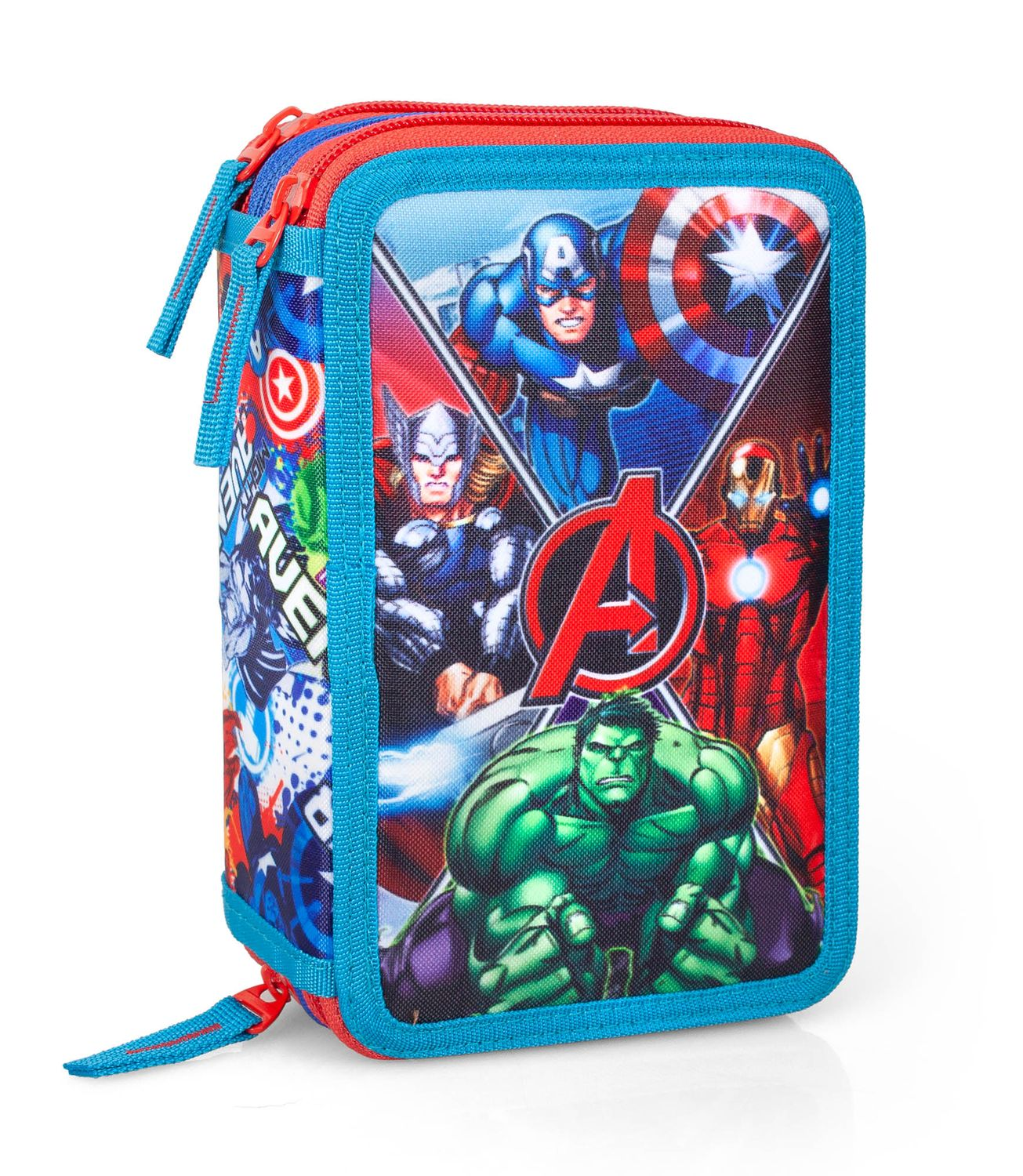 3 Tier Pencil Case AVENGERS Jm – image 1