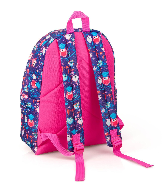 Backpack Rucksack PINK OWLS – image 2