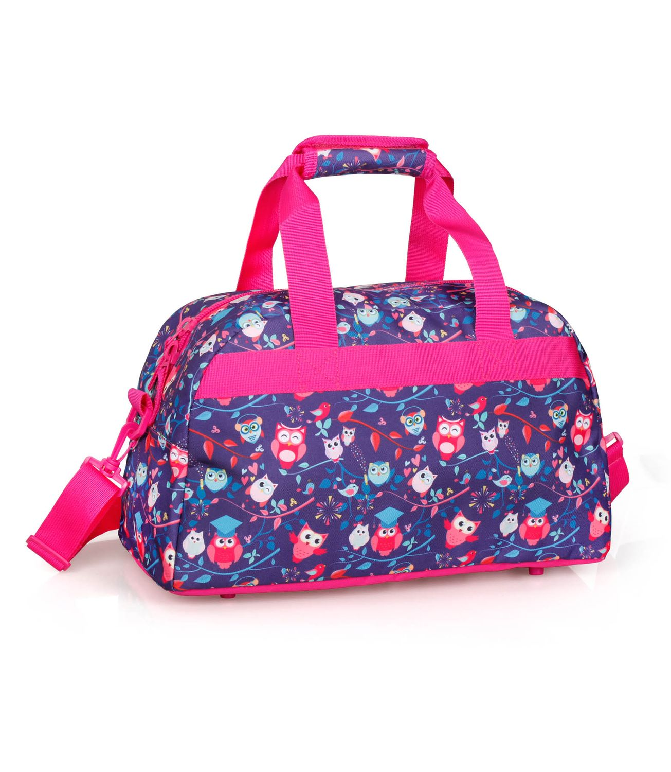 Holdall Travel Bag PINK OWLS – image 2