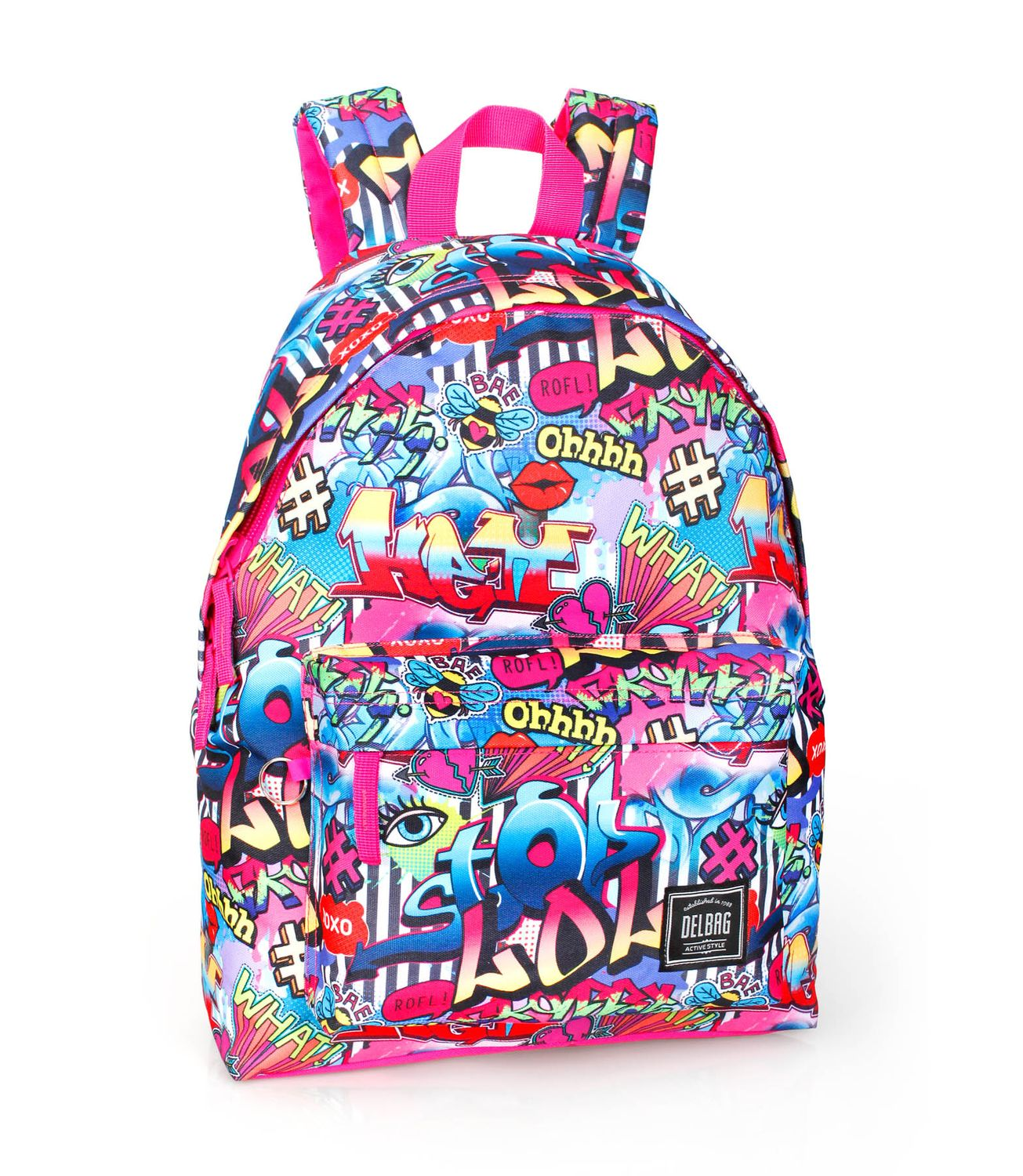 Backpack Rucksack GRAFFITI Hashtag – image 1