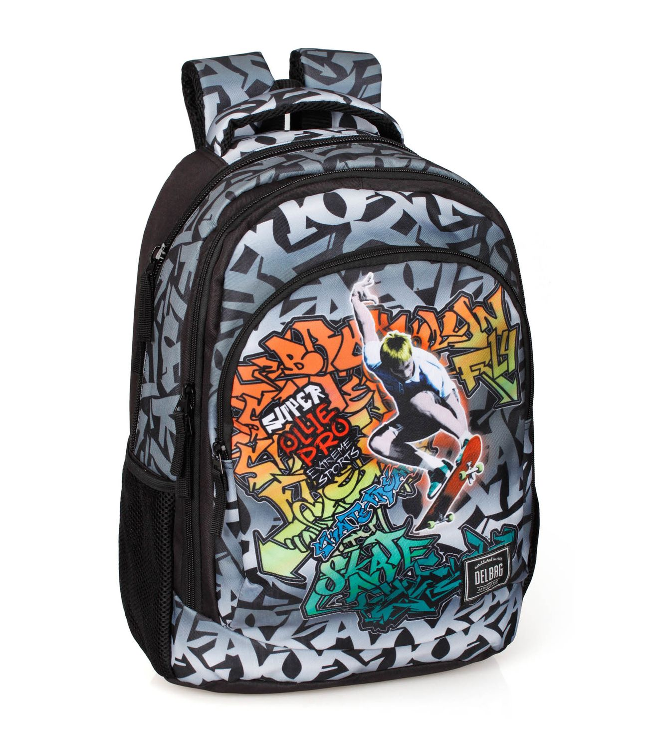 Triple Backpack Rucksack GRAFFITI SKATE – image 1