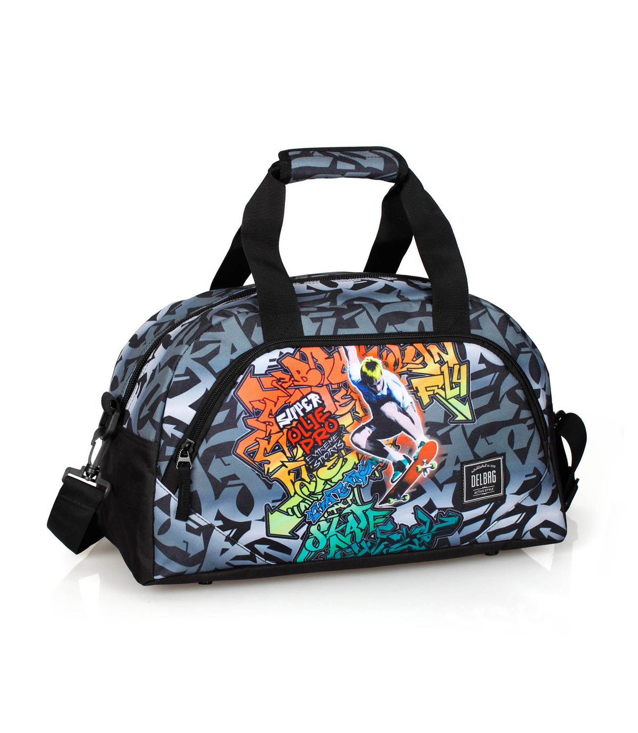 Holdall Travel Bag GRAFFITI SKATE – image 1