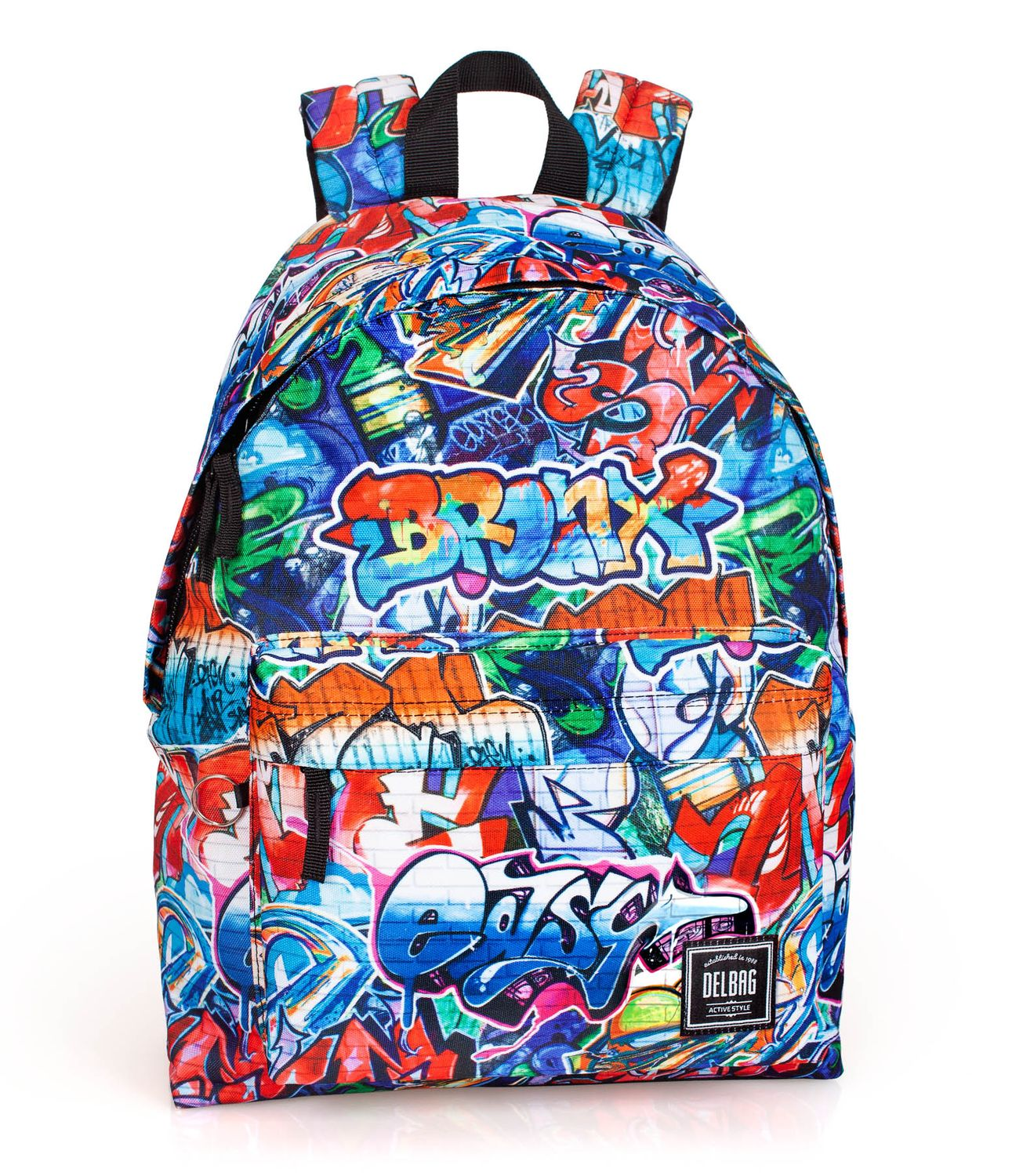 Backpack Rucksack GRAFFITI BRONX – image 1