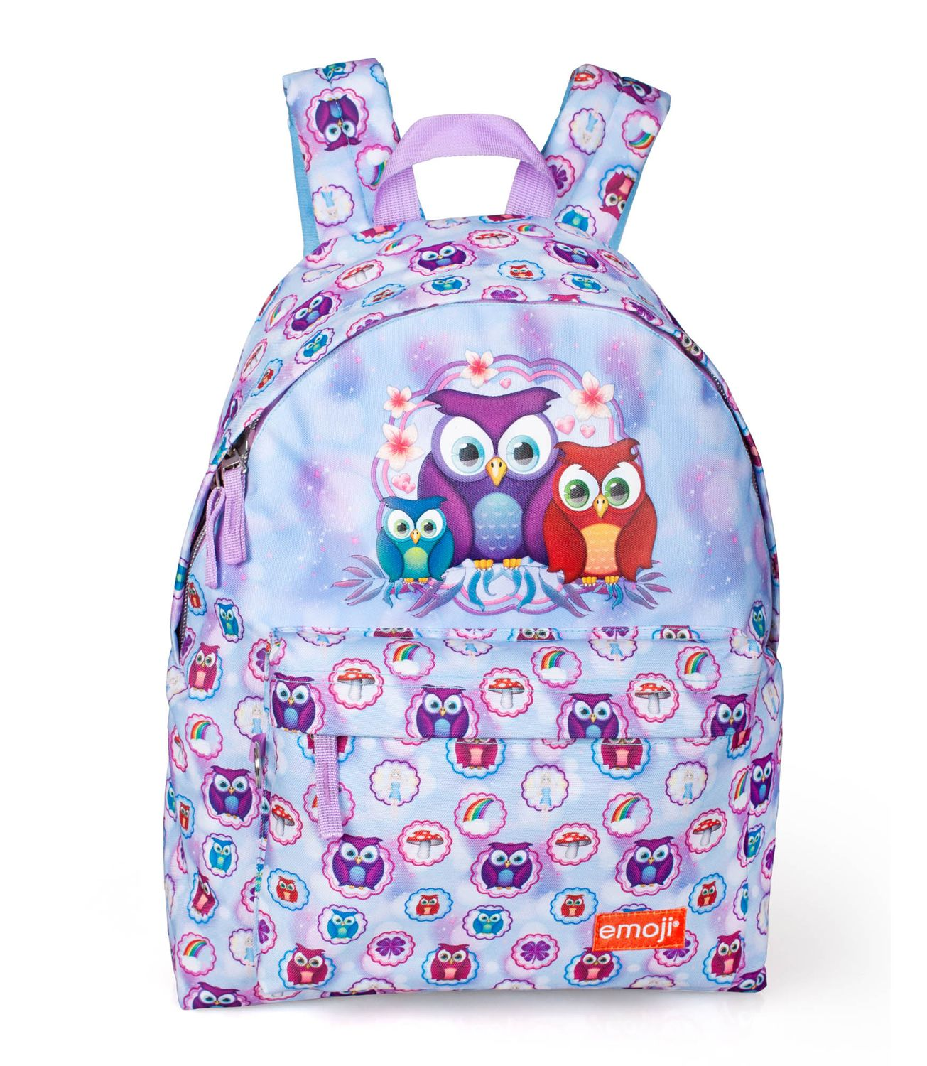 Backpack Rucksack EMOJI Official PINK OWLS – image 1