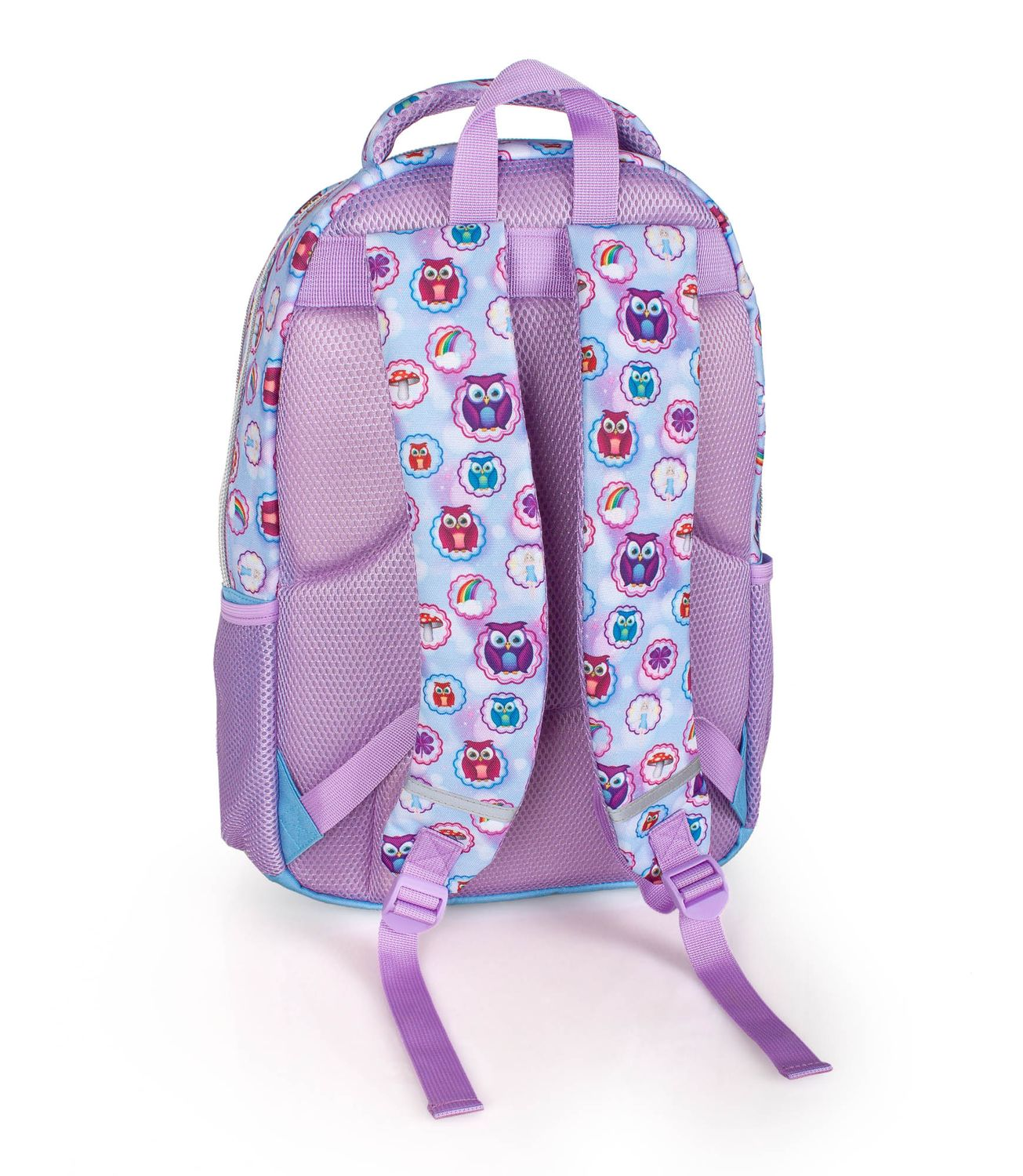 Triple Backpack Rucksack EMOJI Official PINK OWLS – image 2