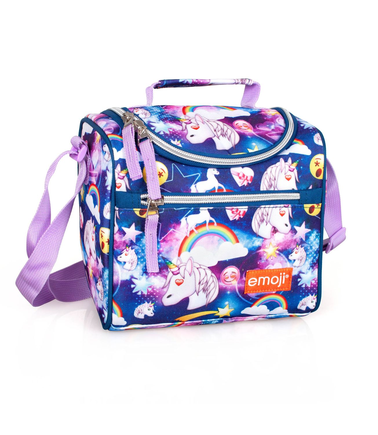 Cooler Lunch Bag EMOJI Official UNICORN – image 1