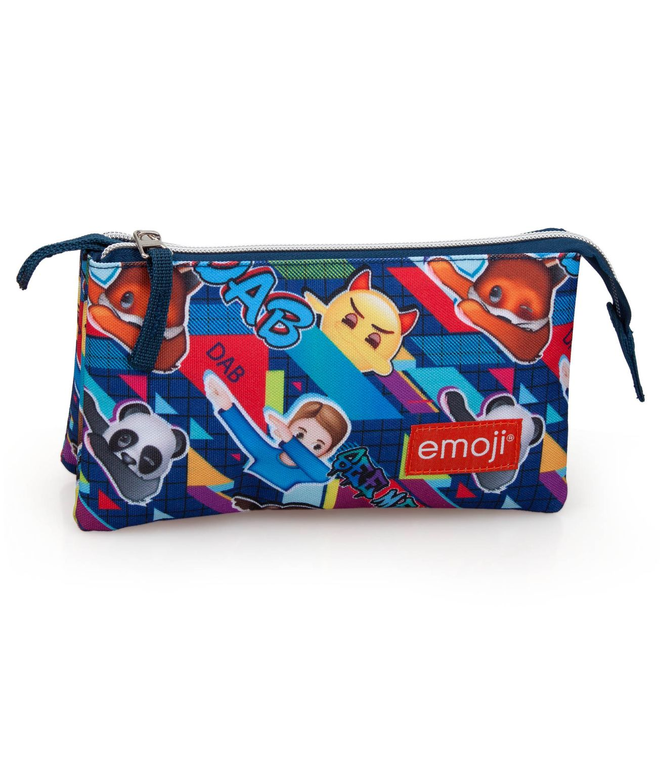 Triple Compartment Pencil Case EMOJI Official DAB – image 1