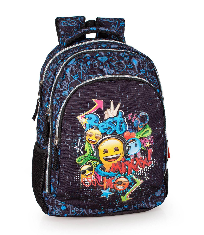 Laptop Backpack Rucksack EMOJI Official MIX – image 1