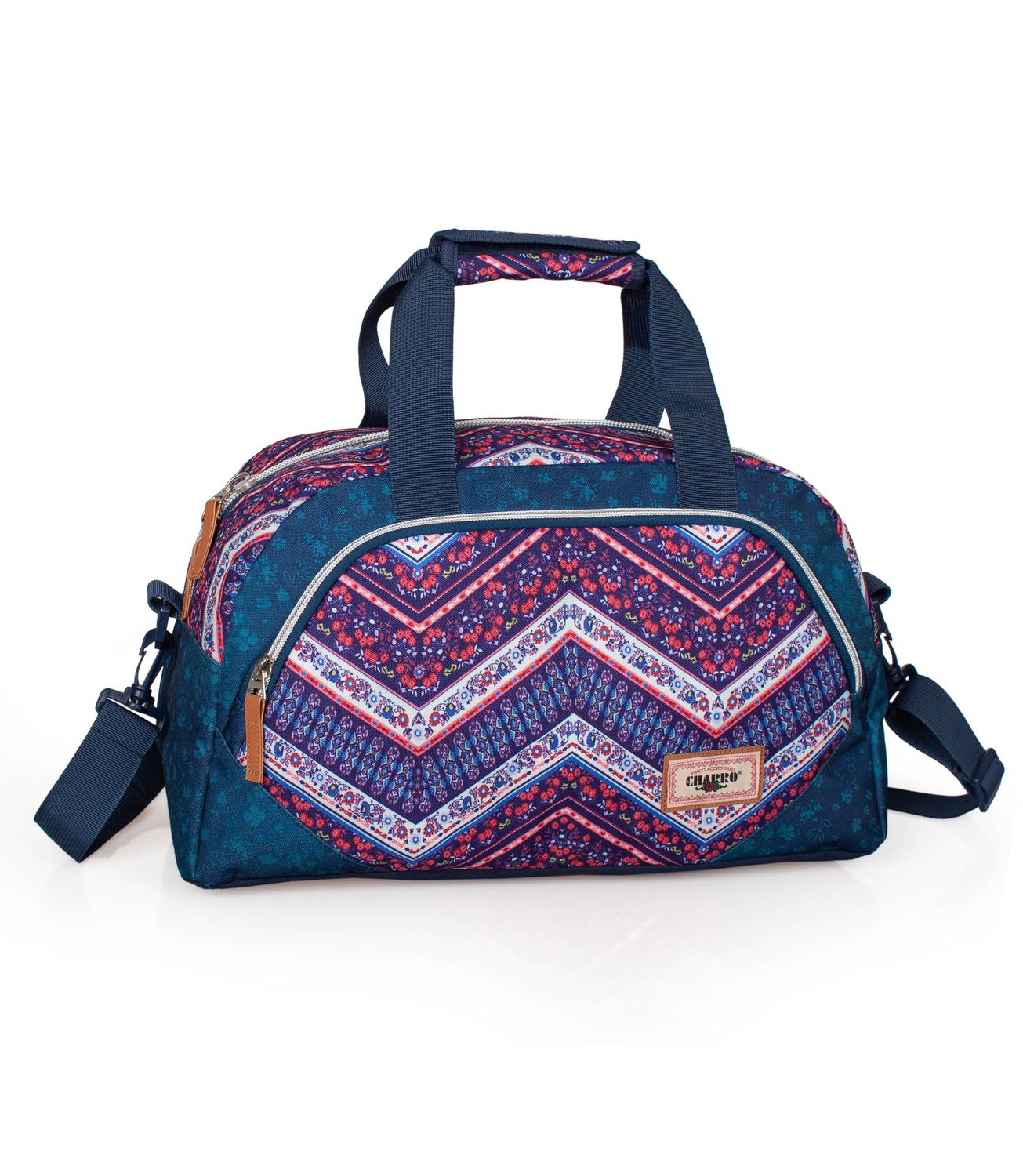 Holdall Travel Bag EL CHARRO ETHNIC DENIM – image 1