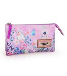 Pencil Case Triple Compartment EL CHARRO FLORAL 001