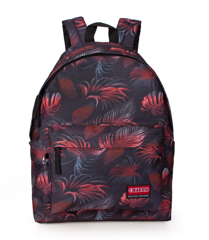 Backpack Rucksack EL CHARRO TROPICAL LEAVES
