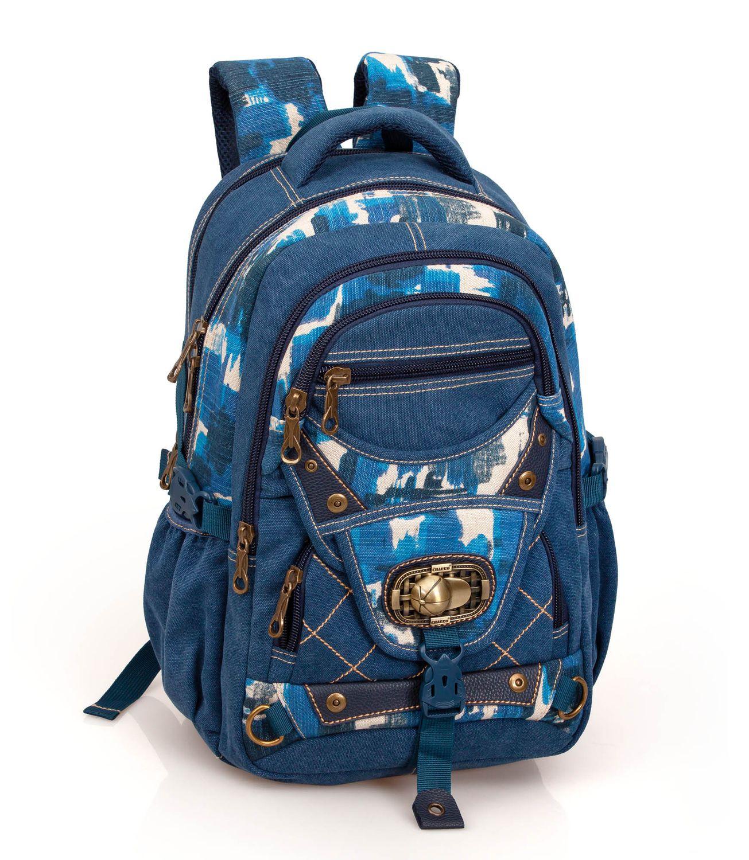 Backpack Rucksack EL CHARRO MONTANA Blue – image 1