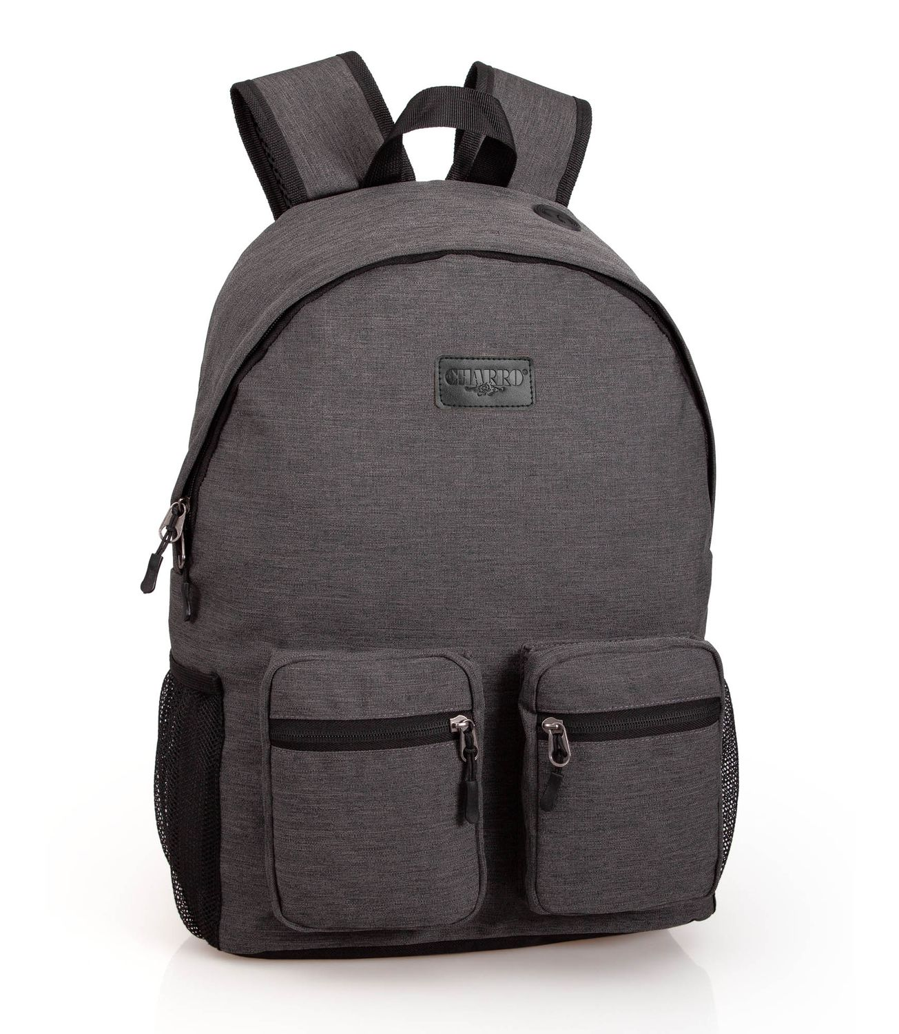 Backpack Rucksack Double Pocket EL CHARRO Grey – image 1