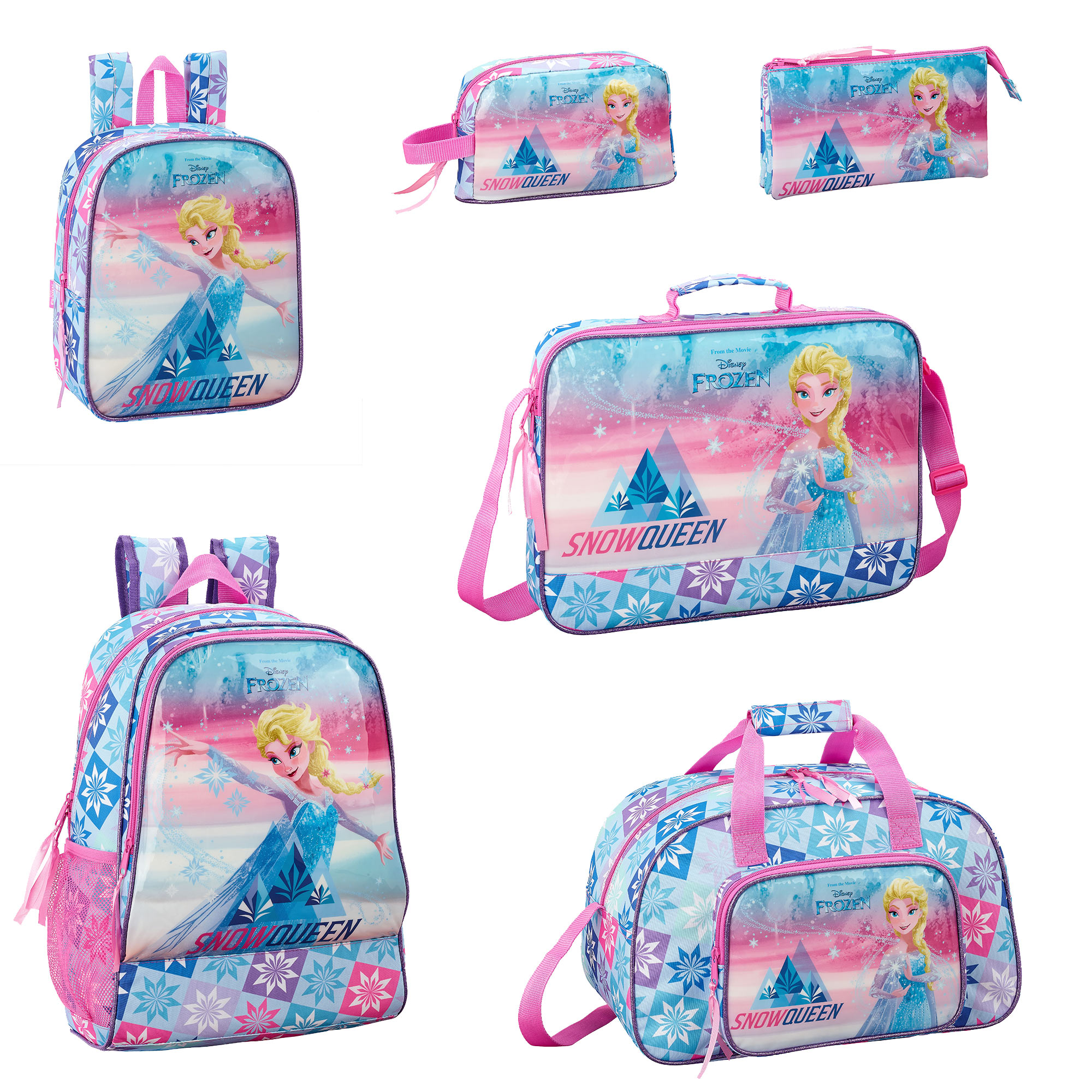 Personalised Backpack//Rucksack//School Bag With Frozen//Elsa Style Design