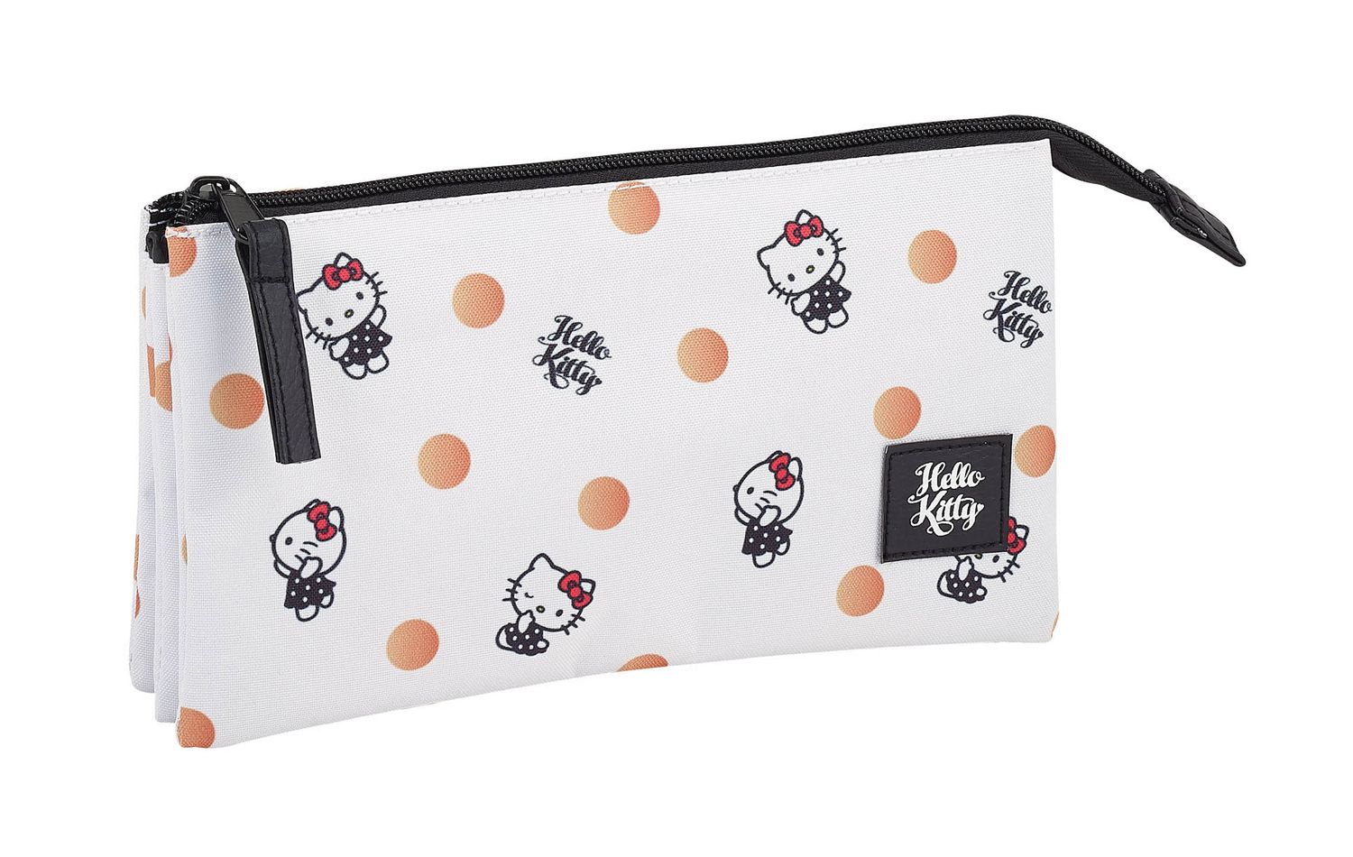 Hello Kitty Spots triple Pencil case – image 1
