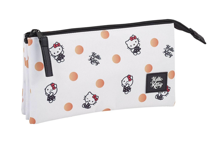 Hello Kitty Spots triple Pencil case – image 1