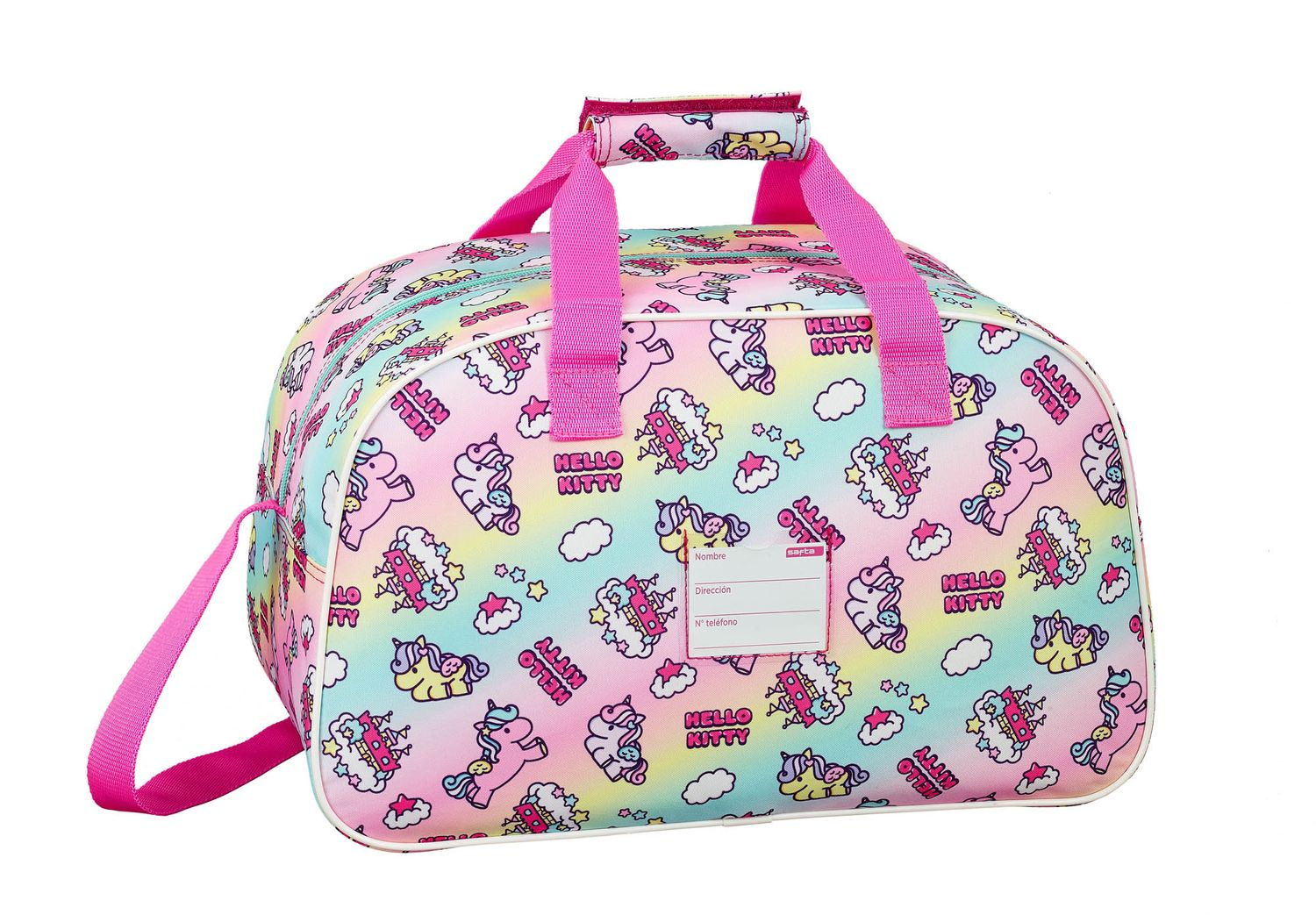 Hello Kitty Candy Unicorn Sports Travel Bag – image 2