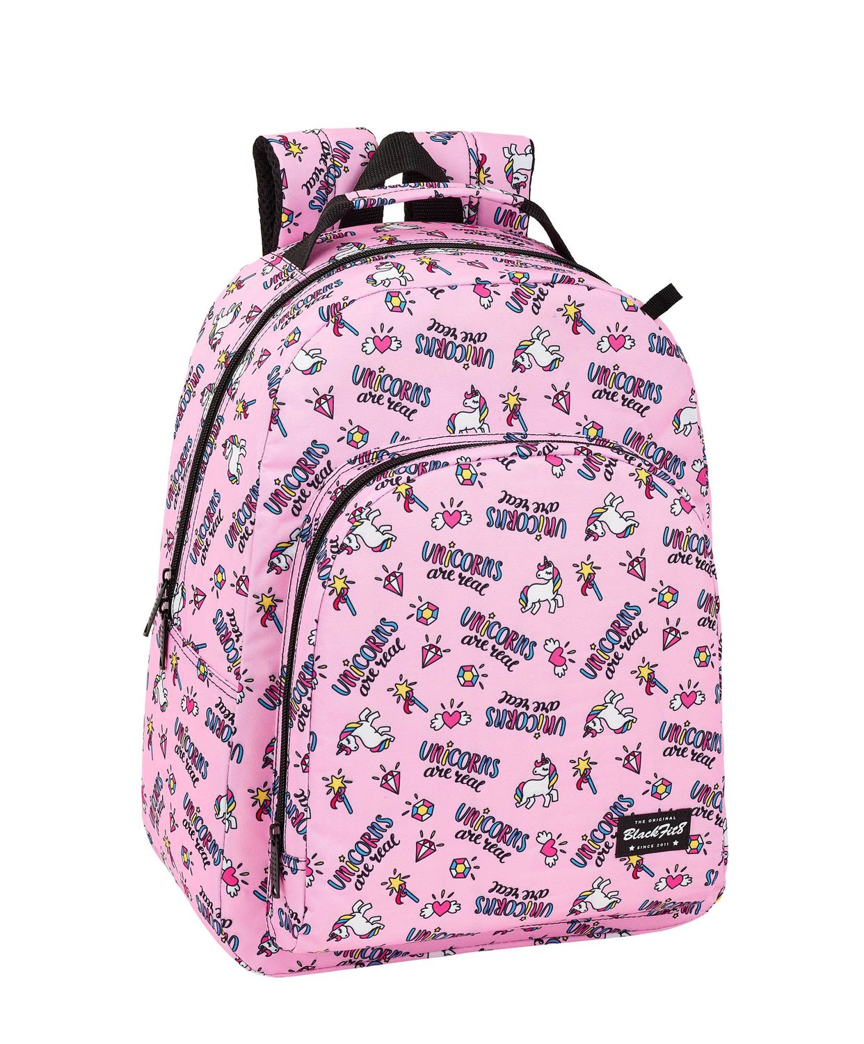 Blackfit8 MAGICAL Unicorns Premium Backpack 42cm – image 1