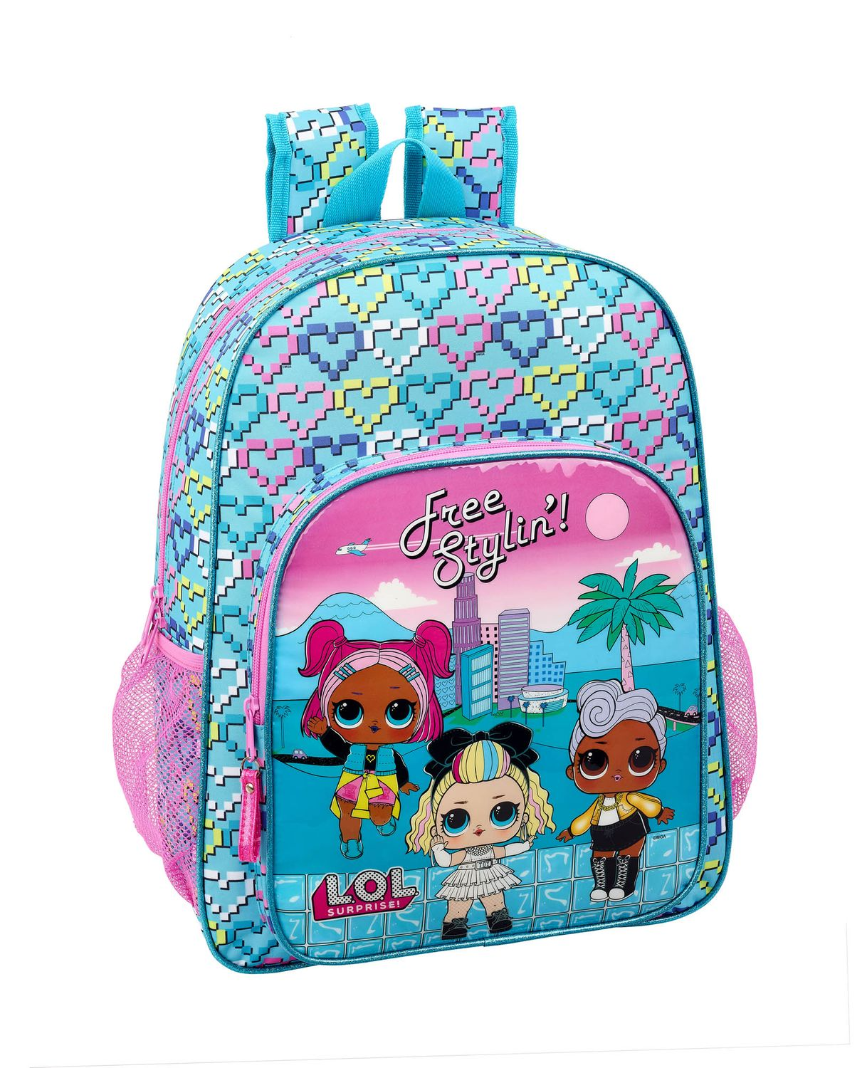 LOL Surprise Hearts Backpack 42cm – image 1