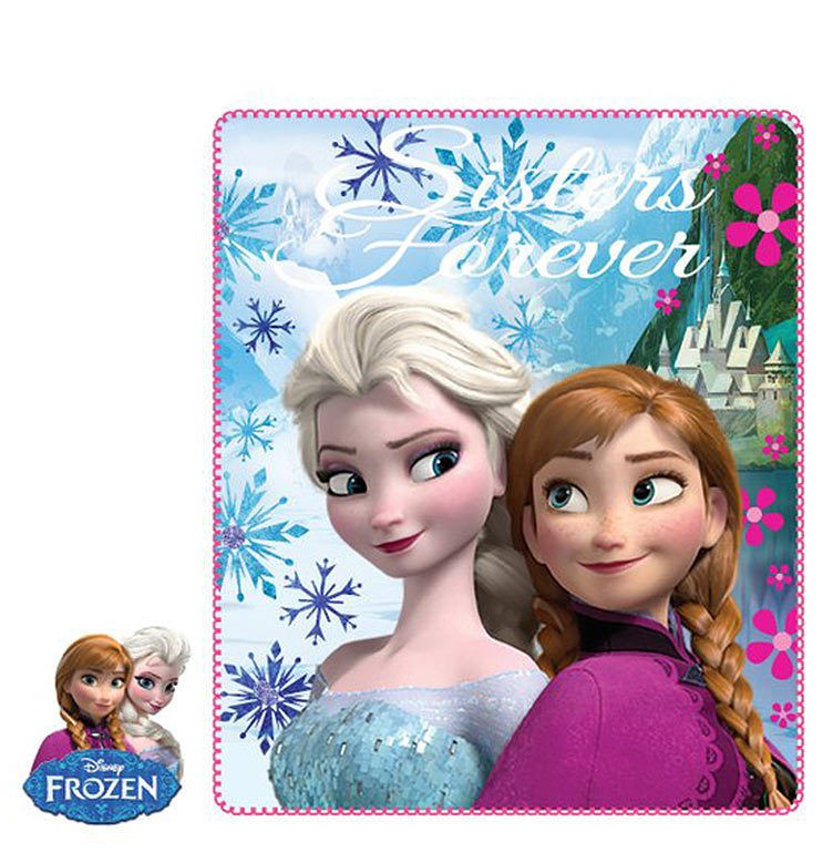 Disney Frozen Fleece Throw Blanket Elsa Anna  – image 2
