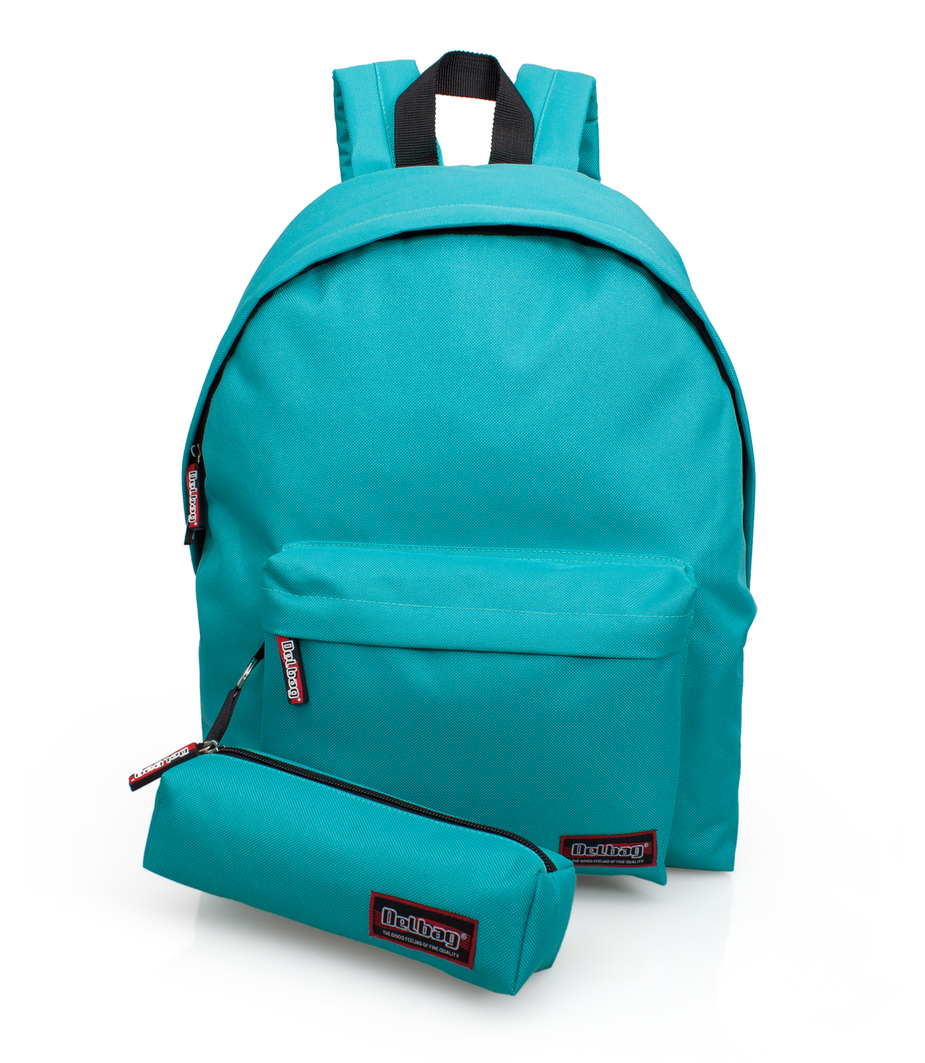 Delbag Backpack With Pencil Case Green Sea – image 1