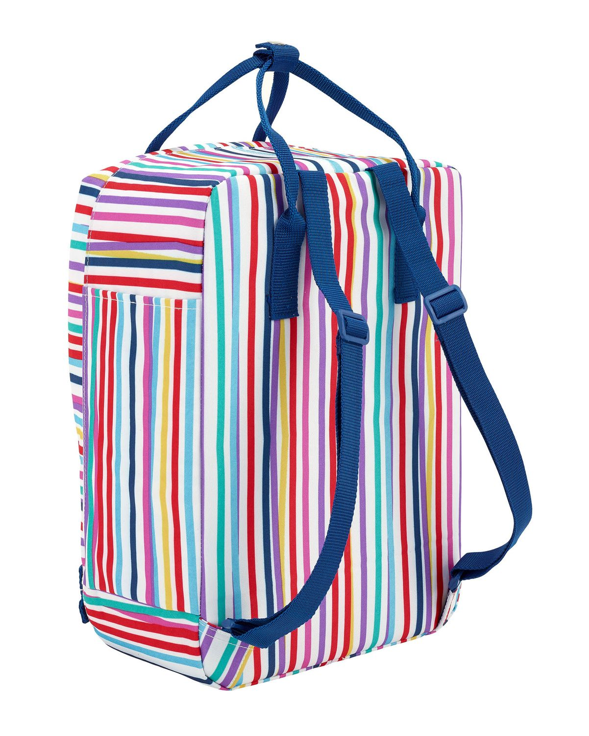 BENETTON Backpack with Handles Color Lines – image 2