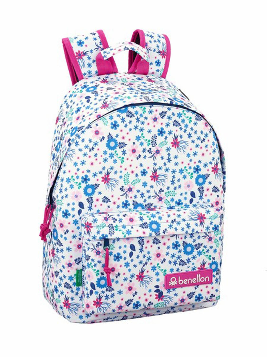 BENETTON Laptop Backpack 14.1'' BLOOM – image 1