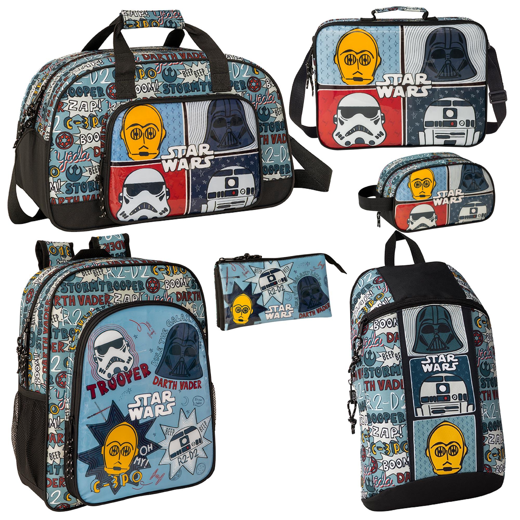 Emblems Print Backpack Bags /& Backpacks--Star Wars