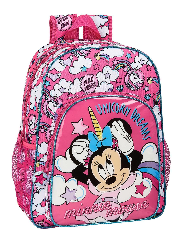 Disney MINNIE MOUSE UNICORNS Backpack Rucksack 42cm – image 1