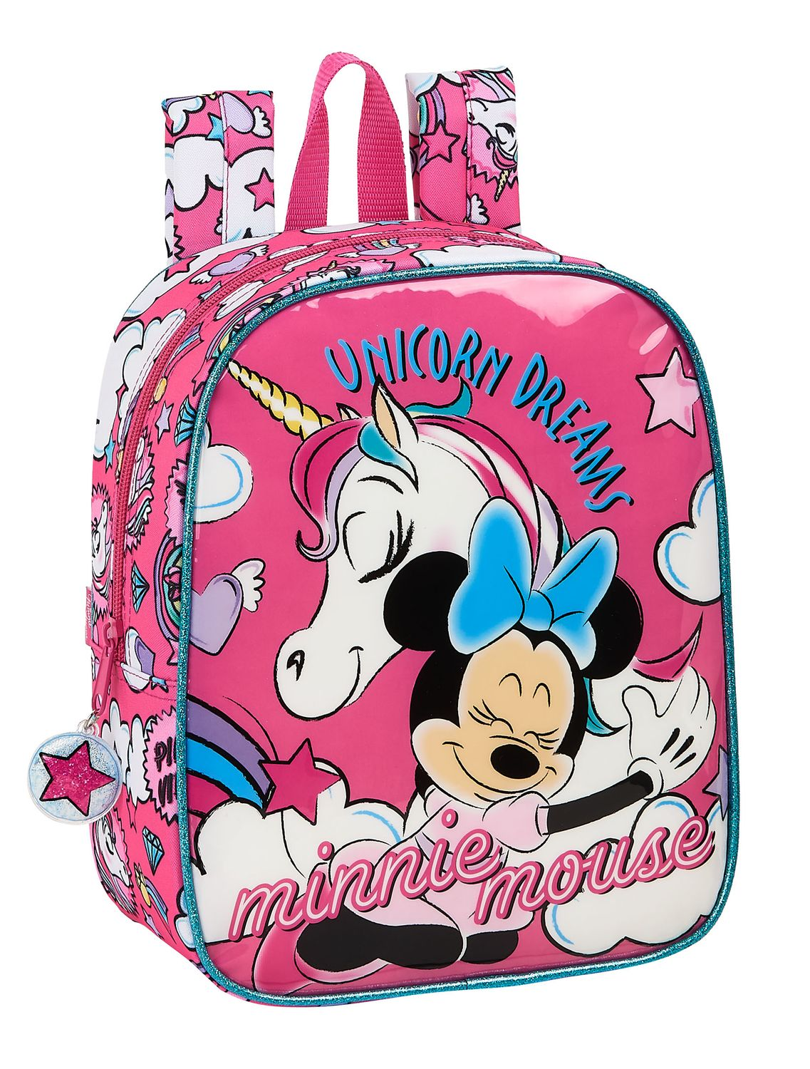 Disney MINNIE MOUSE UNICORNS Junior Backpack 27cm – image 1