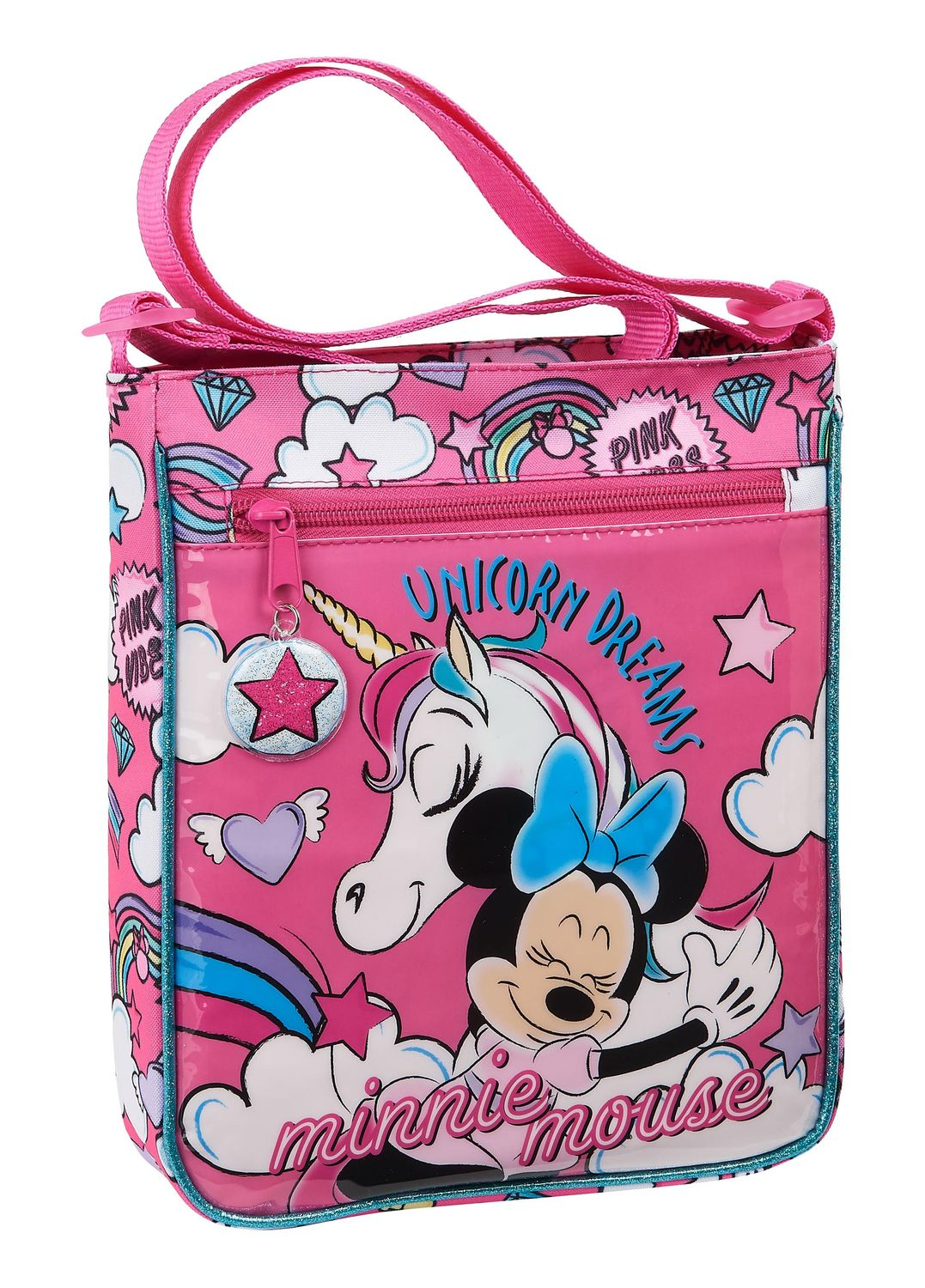 Disney MINNIE MOUSE UNICORNS Shoulder Bag 25cm – image 1