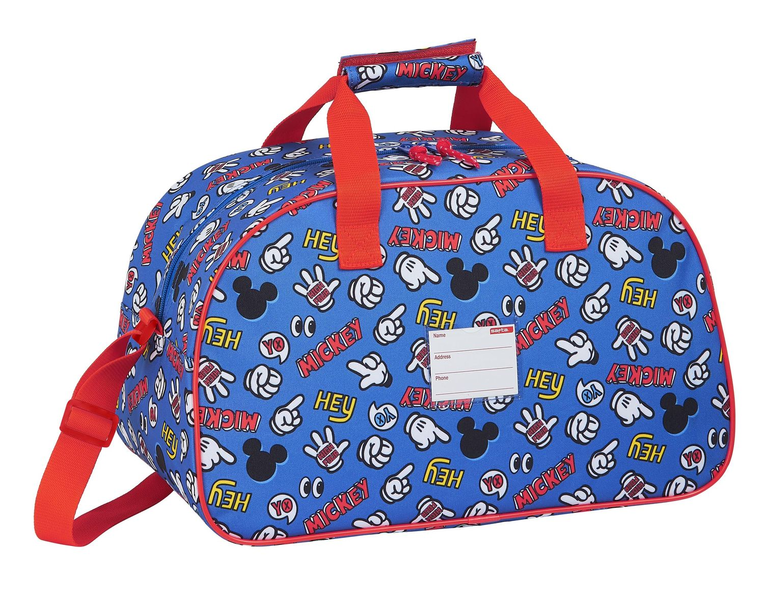 Disney MICKEY MOUSE THINGS Sports Holdall Bag 40cm – image 2